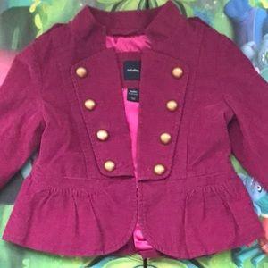 Gap corduroy baby jacket